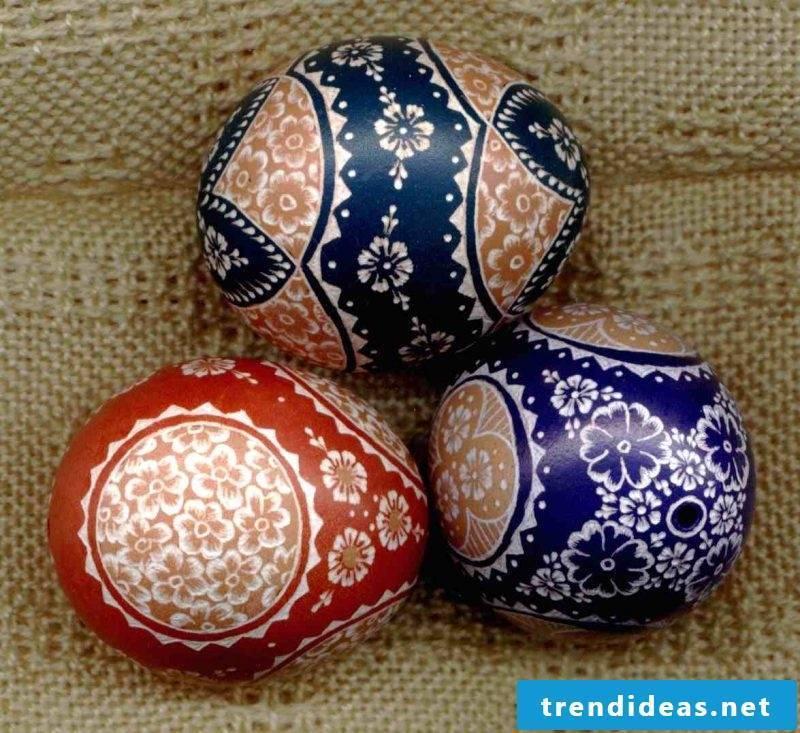 eggs color blue