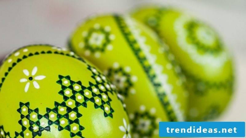 eggs color green