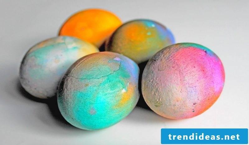 eggs color creative