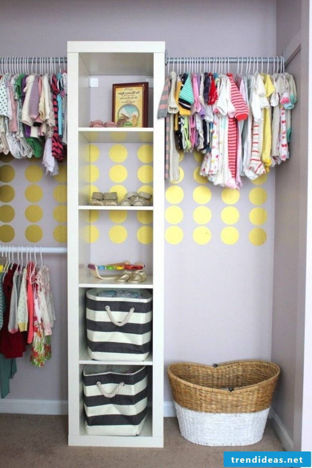 Baby room completely furnished - enough storage space and enough space for games