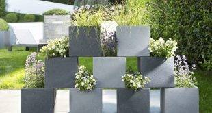 Concrete planter: 25 spectacular deco ideas for the terrace