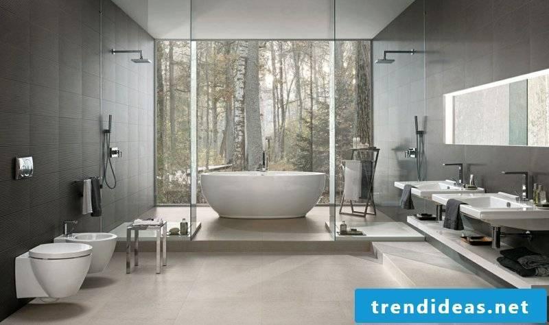 concrete tiles relaxation