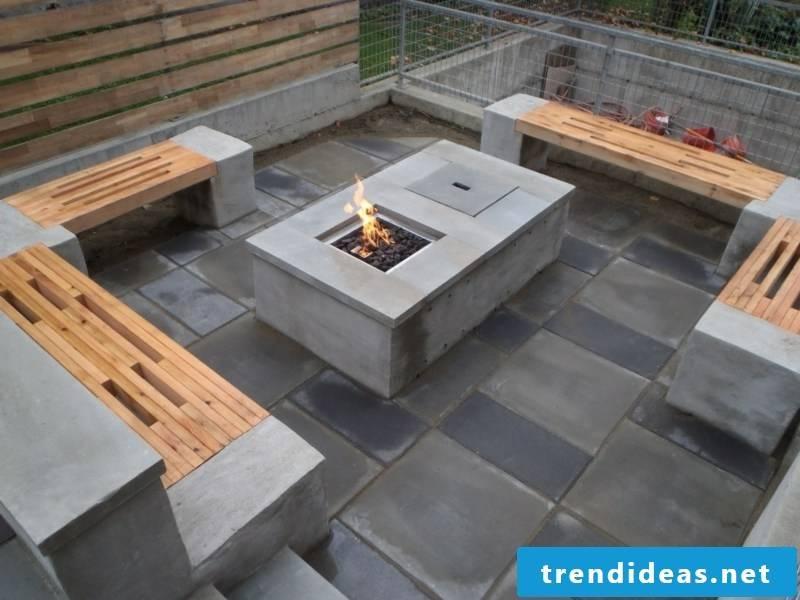 Concrete tiles Popularity of concrete look