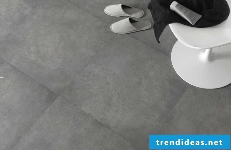 concrete tiled soil solution