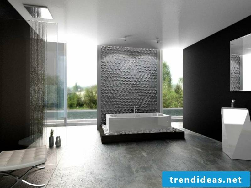 concrete tiles live in gray