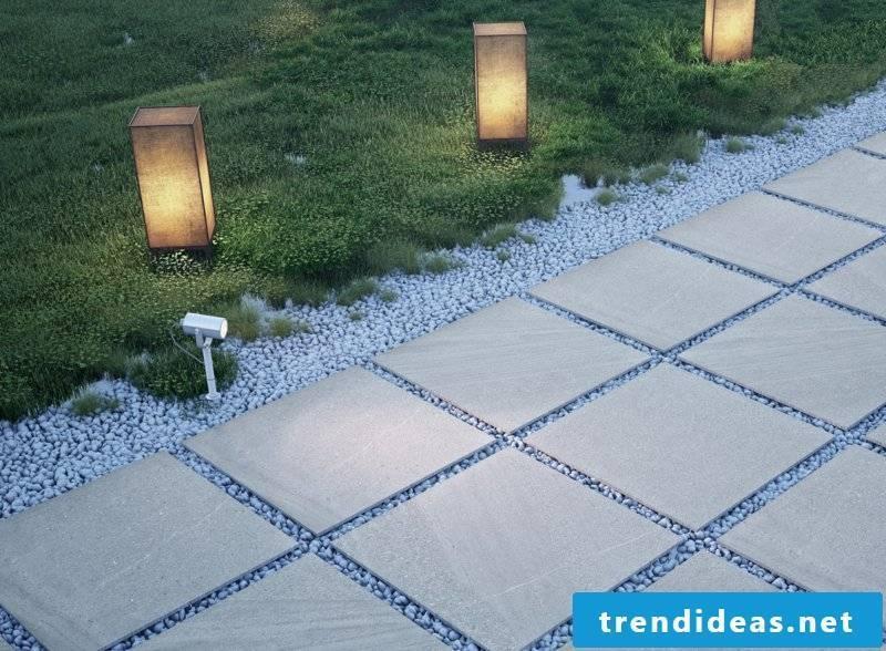 fine-looking concrete tiles