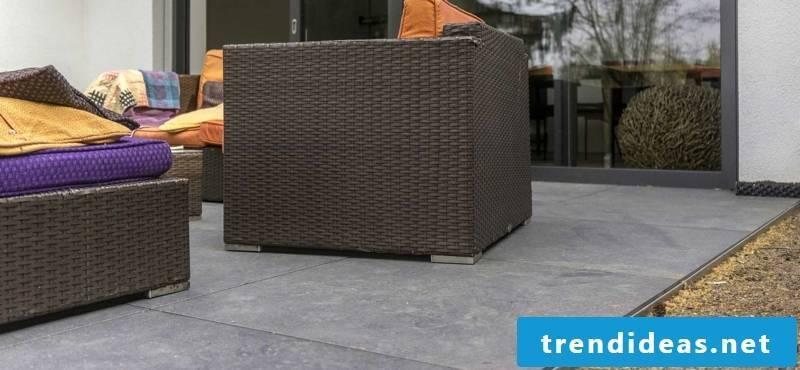 Concrete tiles practical