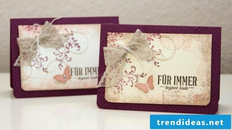 Wedding card inspiring ideas
