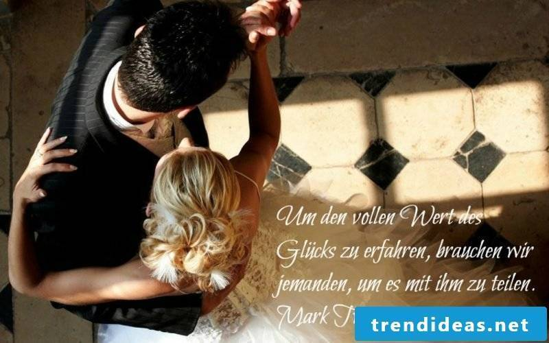 nice short sayings to the wedding quote from Mark Twain