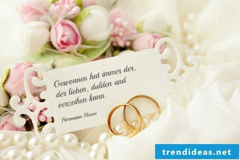 Quotations to the wedding short Hermann Hesse
