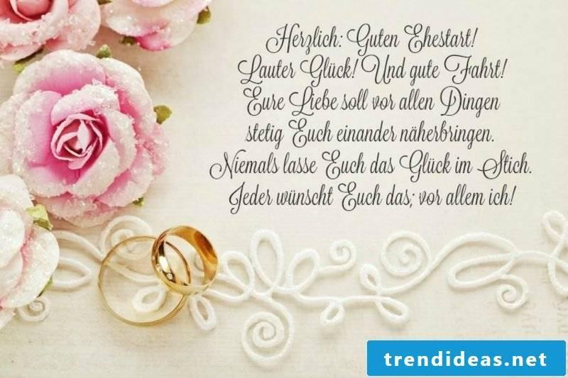 Wedding wishes lovingly romantic