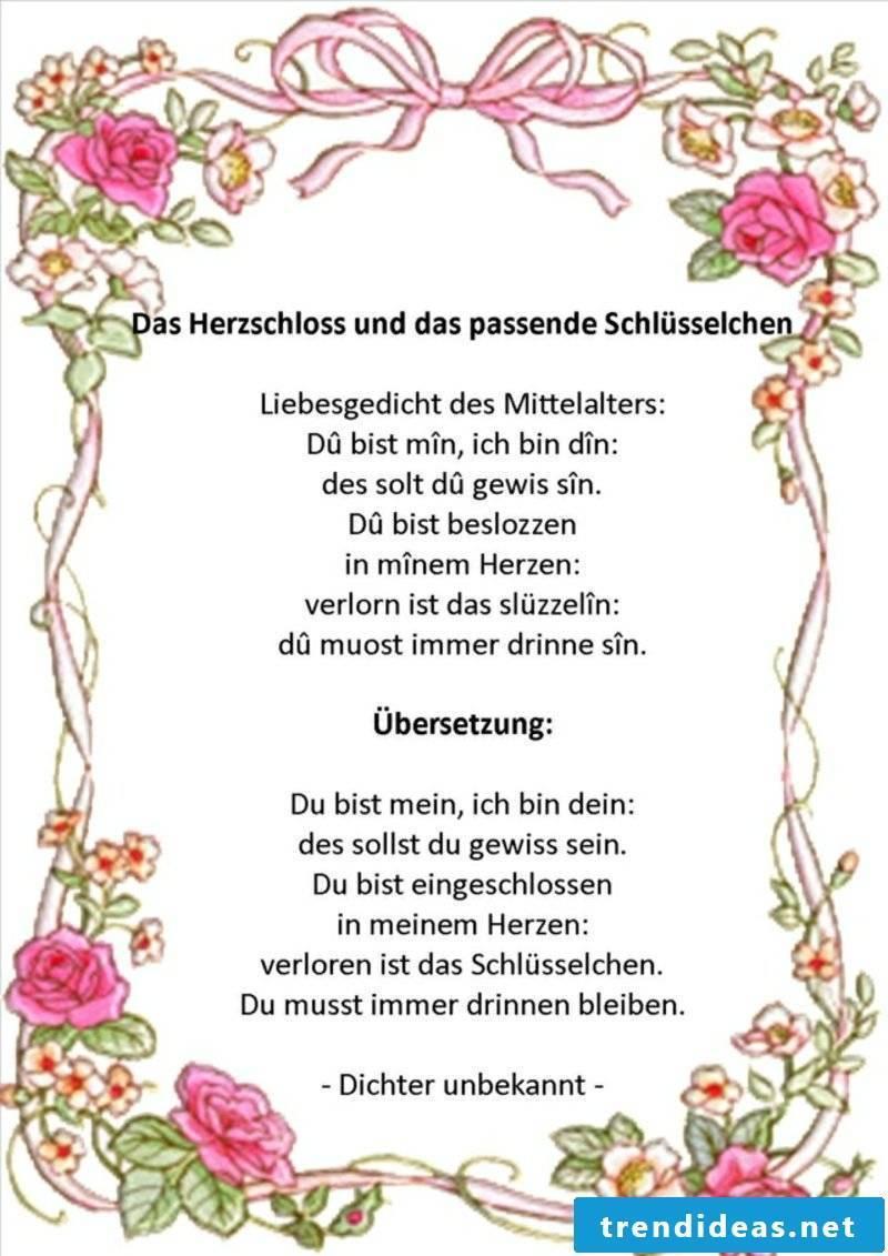 Wedding card write original idea gorgeous poem