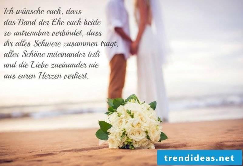 romantic wedding wish