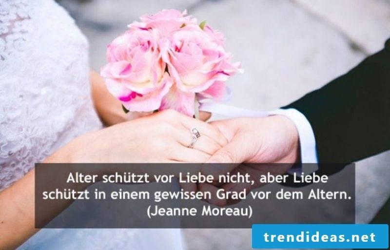 Quotations wedding Jeanne Moreau