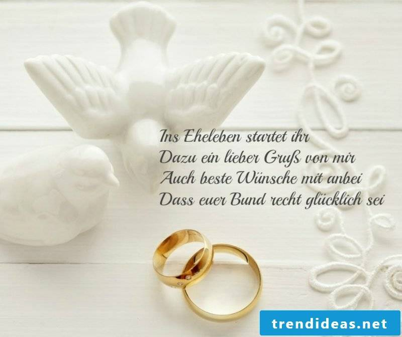 Wishes for the future wedding