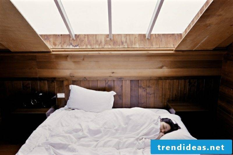 Construction of boxspring bed more sleeping comfort