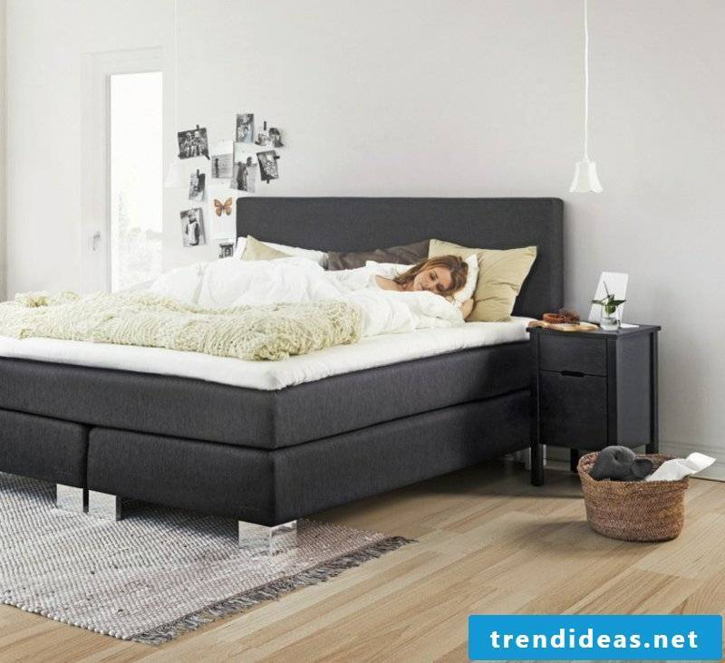 Structure of box spring bed heavenly sleep feeling