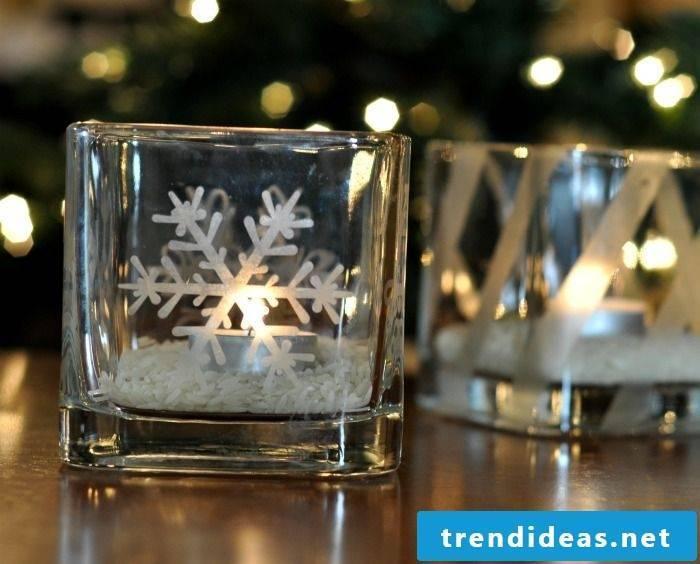 Make beautiful candleholders