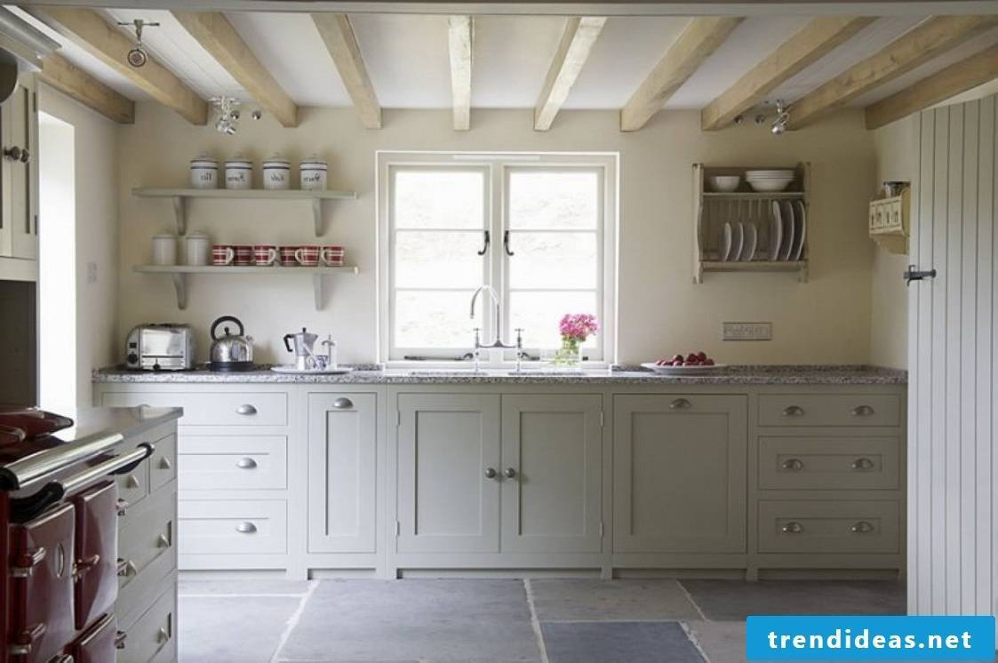 cool country kitchen - simple and modern