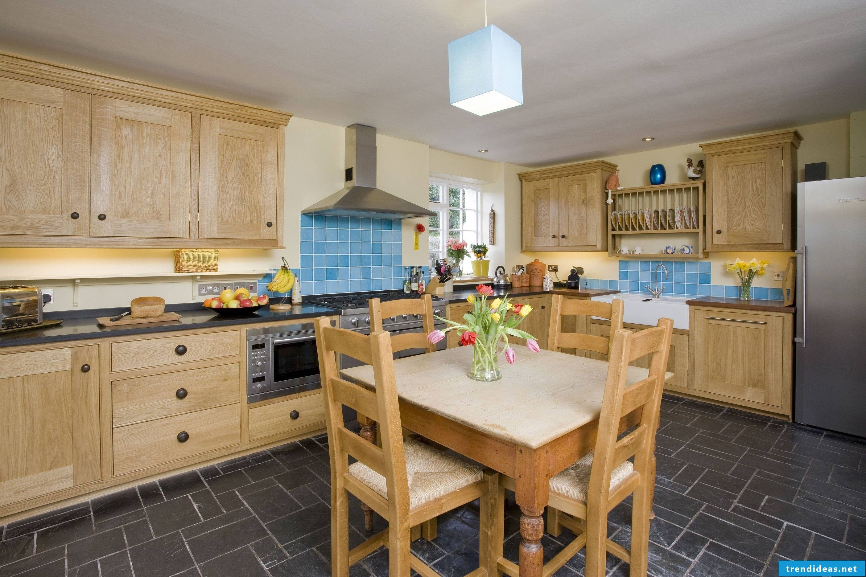 Country style kitchen suits every apartment