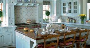 Country style kitchen - Modern meets romance and tradition