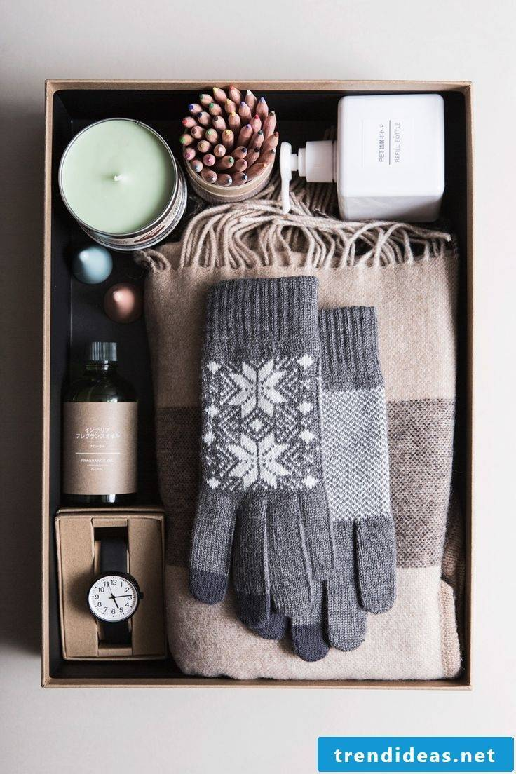 Great craft ideas for a practical gift for Christmas
