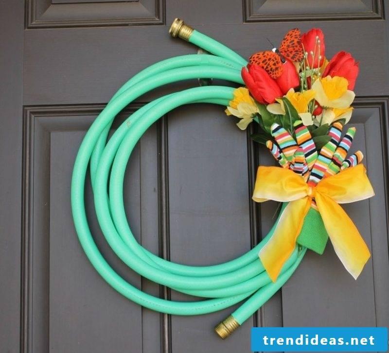 Crafting ideas Spring original wreath