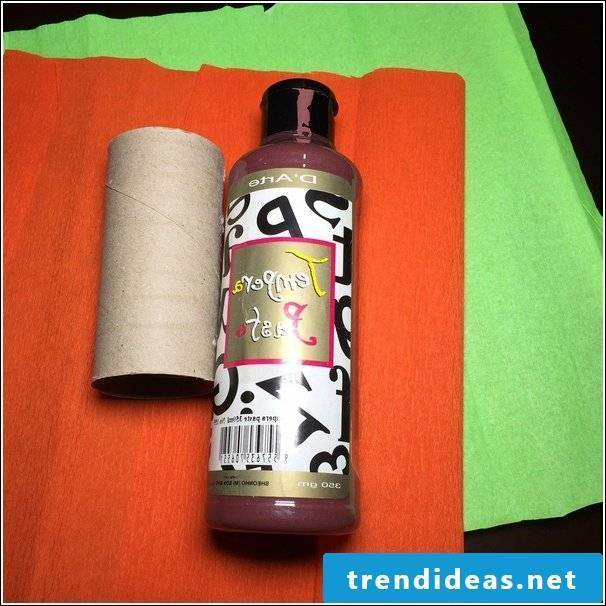 Crafting with toilet paper rolls Instructions