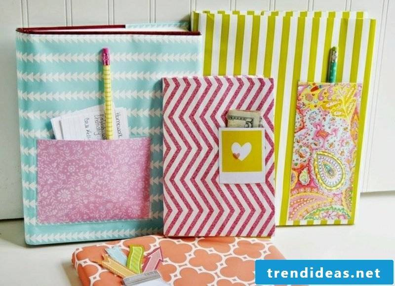 make simple craft ideas book cover itself