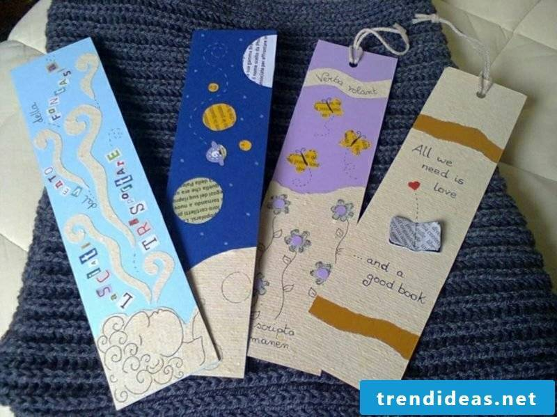 Cool craft ideas make bookmark out of paper
