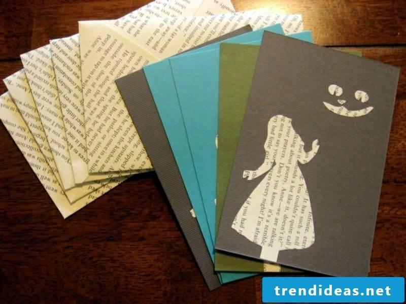 Crafting tips to make envelopes