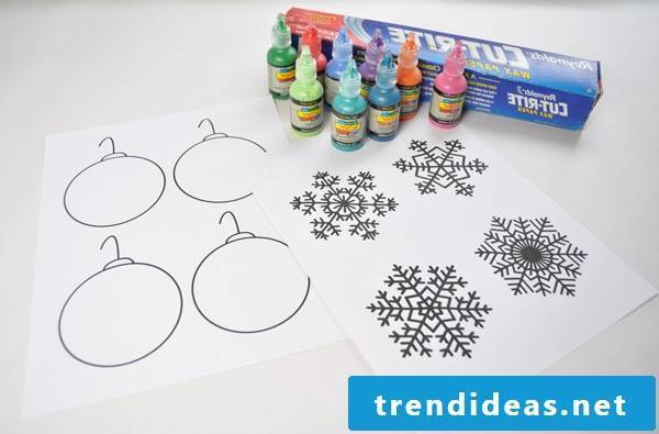 Coloring pages for Christmas instruction