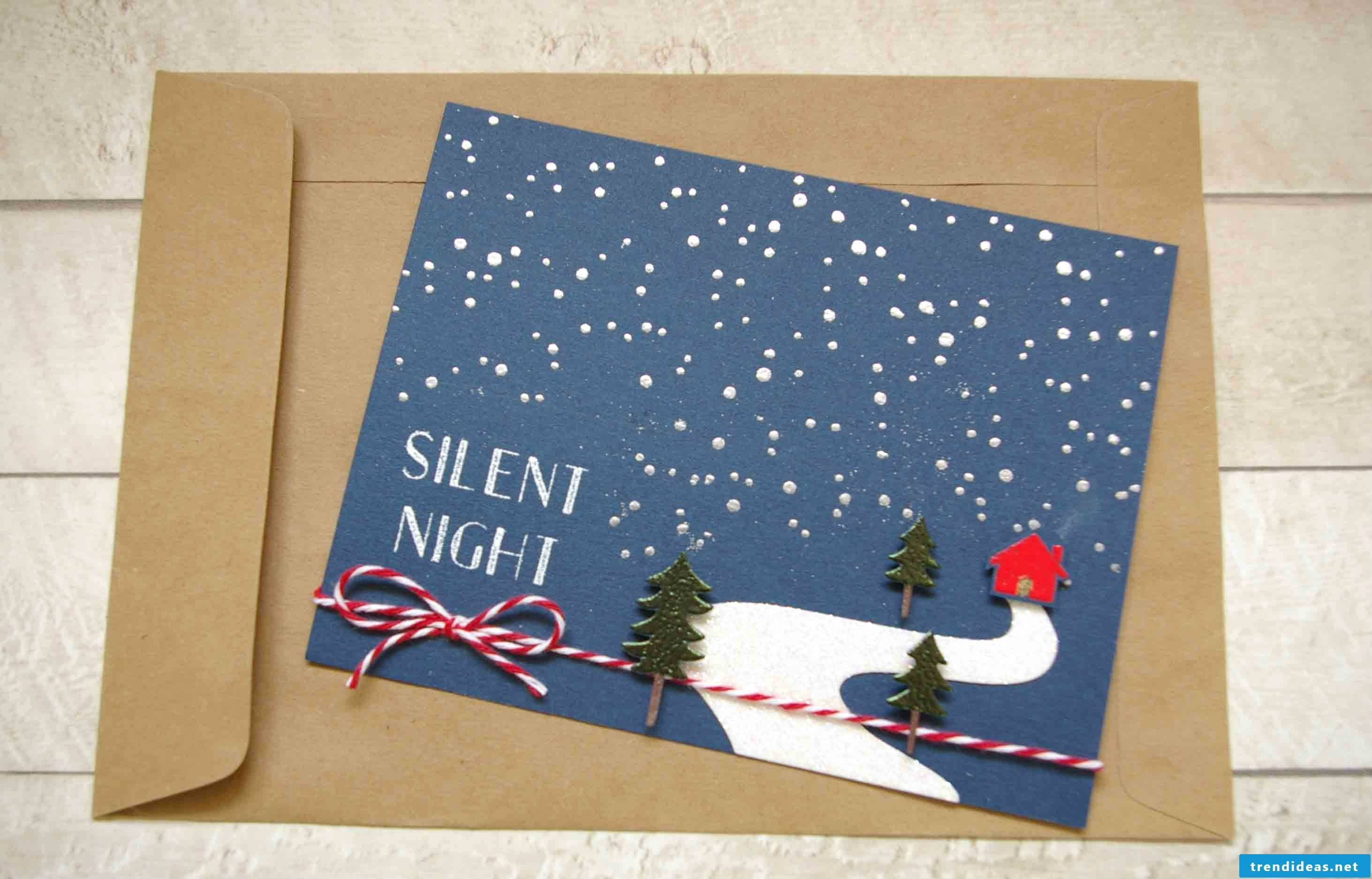 Great Christmas card template can be found here!