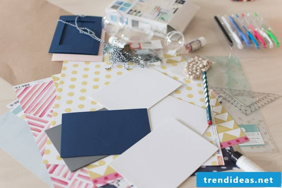 Make ideas for Christmas cards yourself