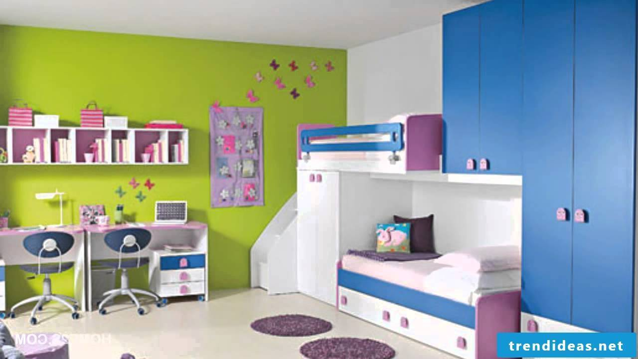 Bright children's room with plenty of room to play