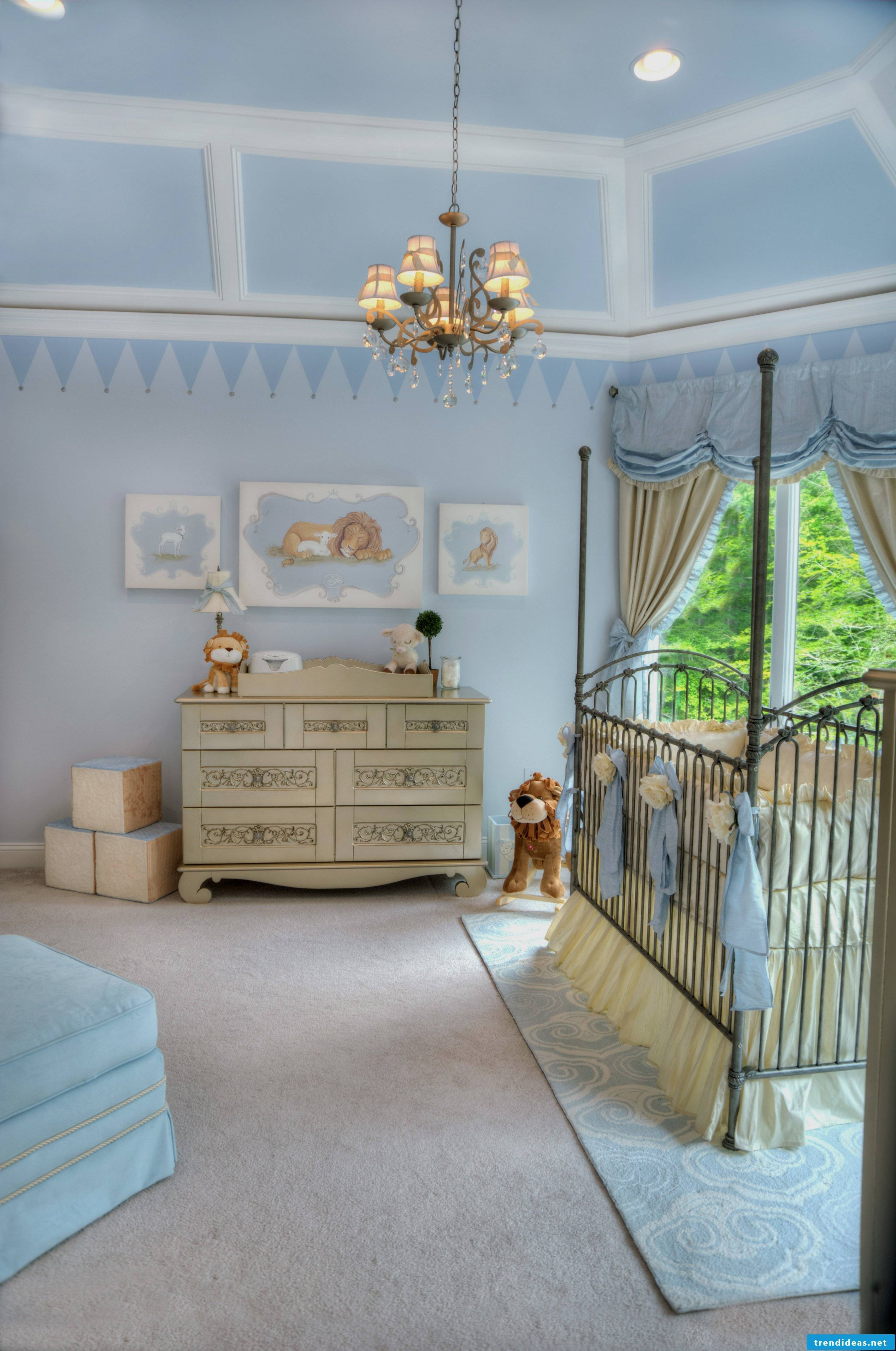 Baby Blue - the chic nursery for the baby boy