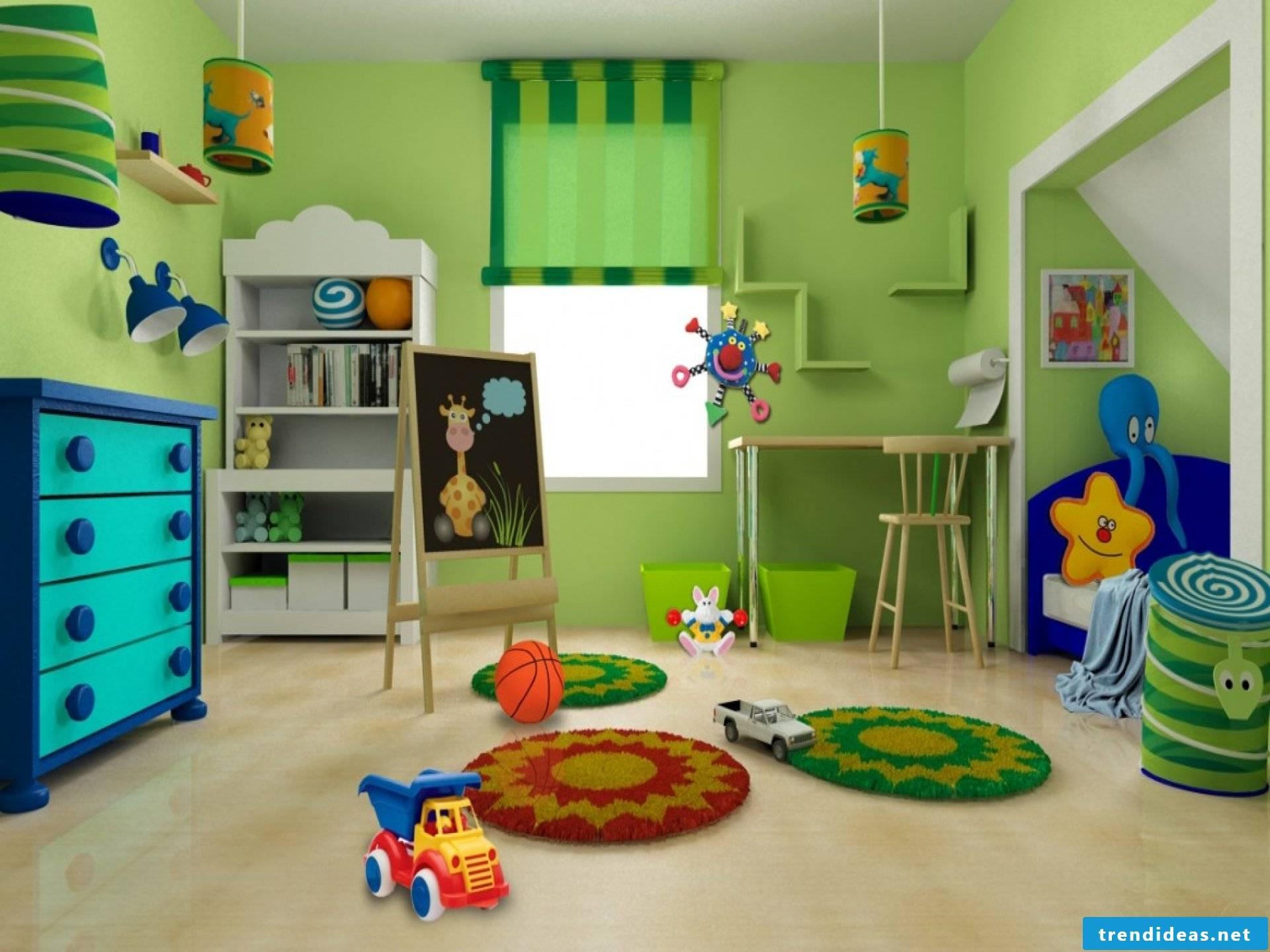 Nursery design- The green children's kingdom