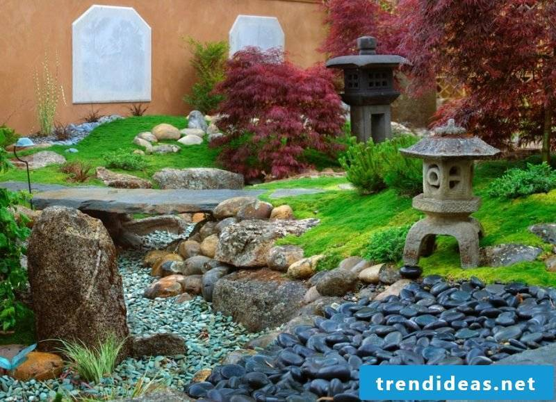 Creating a stone bed: The dreamlike garden!
