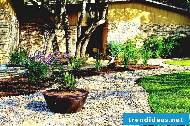 Creating a bed of stones: Follow our tips for proper care