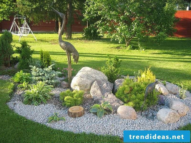 Creating a stone bed: Tips for the care