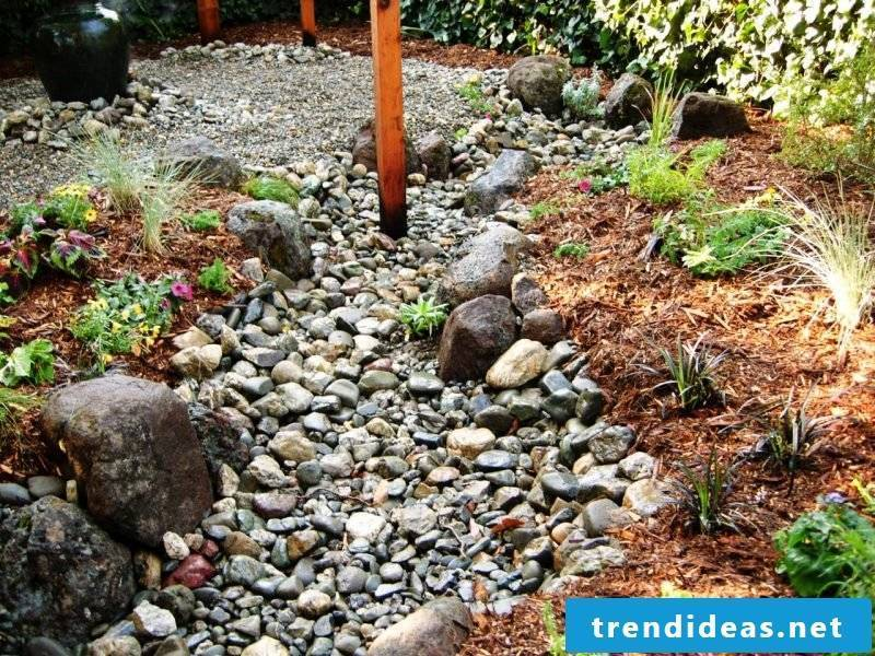 Creating a stone bed: instructions