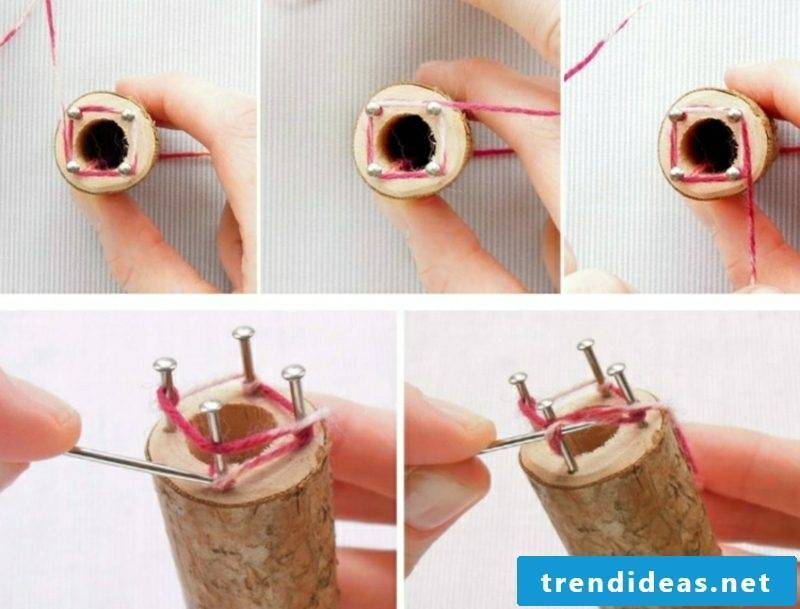 Tinker with Strickliesel step by step