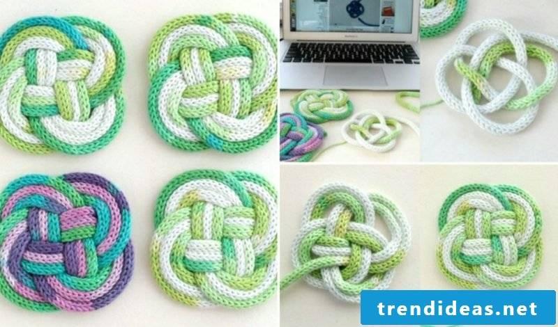 Knitting with Strickliesel original crafting ideas