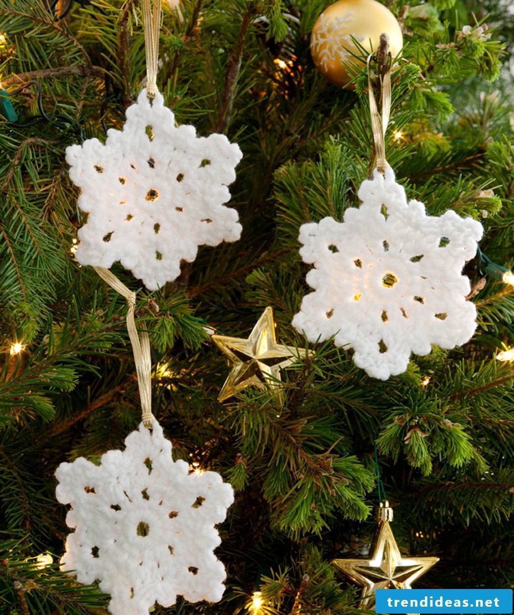 Crochet for Christmas DIY Christmas tree decorations