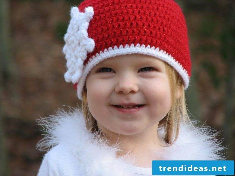 Crochet for Christmas cap