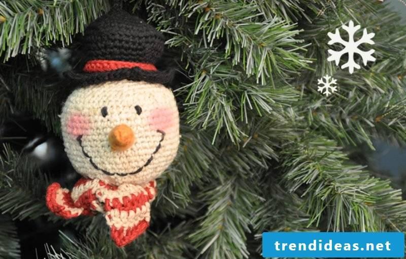Crochet for Christmas Christmas tree decorations