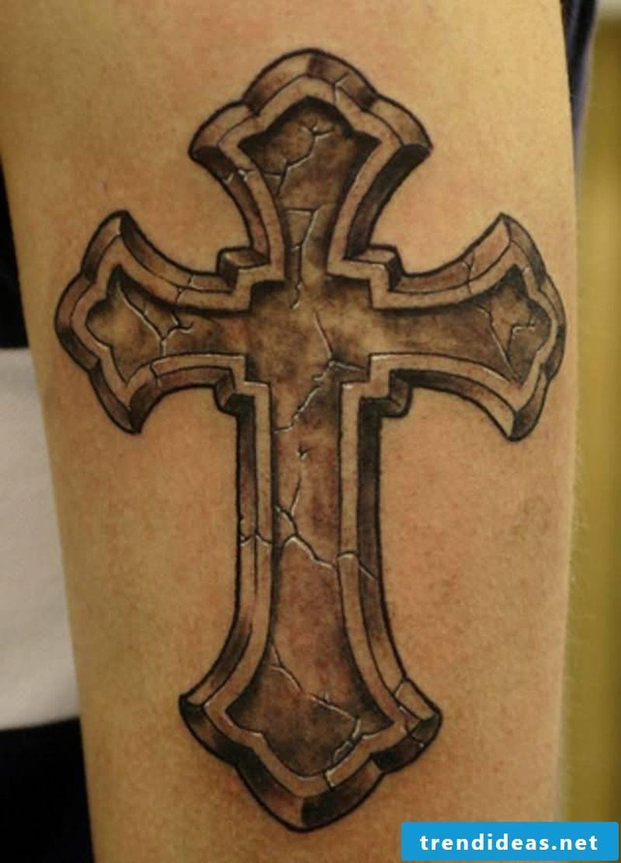 Tattoo Cross great attractive look