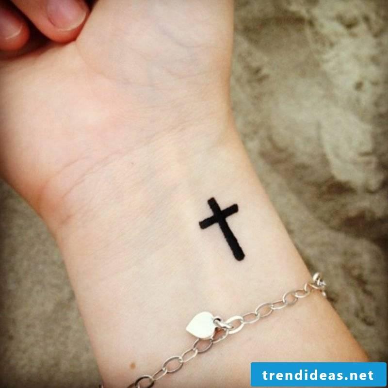 Cross tattoo classic