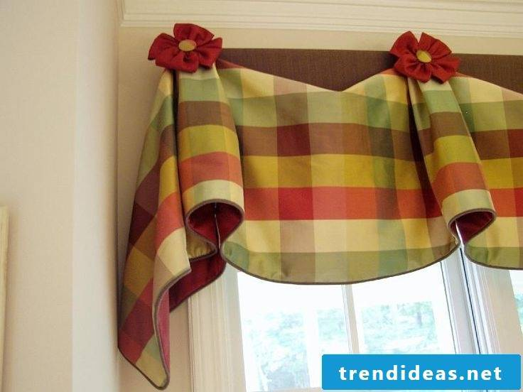 Sewing curtains is easy
