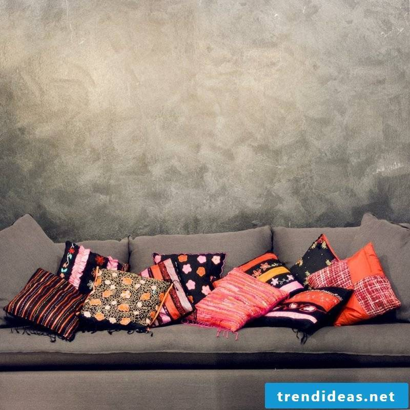 Make your own pillow colorful